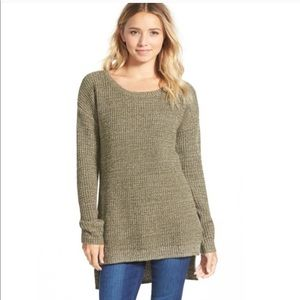 Sage Green Oversized Sweater